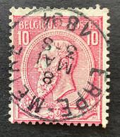 Leopold II OBP 46 - 10c Gestempeld ERPE-MEIRE - 1884-1891 Leopoldo II