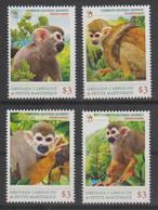 Grenada Carriacou & Pettite Martinique Mnh Monkey. - Mono