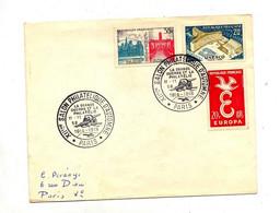 Lettre Cachet Paris Salon D'automne 1958 Guerre 1914/18 - Cachets Commémoratifs