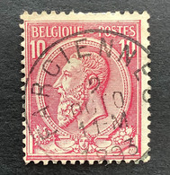 Leopold II OBP 46 - 10c Gestempeld FARCIENNES - 1884-1891 Leopoldo II