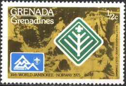 Mint Stamp Scouts Scouting 1975 From Grenada Grenadines - Unclassified