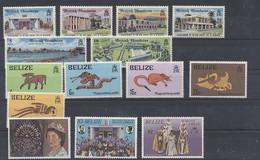 Britisch Honduras / Belize Lot Aus 1971 - 1977 - Postfrisch - MNH - ** - Belize (1973-...)