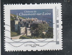 MONTIMBRAMOI CHATEAU DE CHAUMONT SUR LOIRE OBLITERE - Personalizzati (MonTimbraMoi)