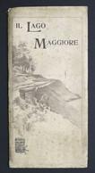 Carta Geografica - Il Lago Maggiore - Vallardi Editore - Anni '30 - Other