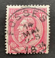 Leopold II OBP 46 - 10c Gestempeld FOSSES - 1884-1891 Leopoldo II