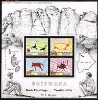BOTSWANA/ Neufs**/MNH**/ 1975 - Peintures Rupestres - Botswana (1966-...)