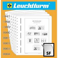 Leuchtturm Nachtrag Deutschland Zusammendrucke 1990 SF Mit Taschen Neu - Pre-printed Pages