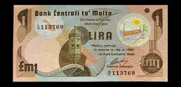# # # Banknote Malta 1 Lira 1967 UNC # # # - Malta