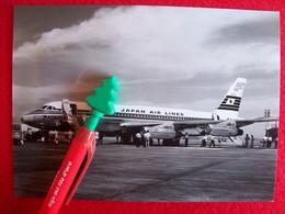 FOTOGRAFIA  AEREO CONVAIR 880 JAPAN AIR LINES - Unclassified