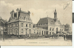 Nord (59) Valenciennes Nouvelle Gare 1907 ? - Valenciennes
