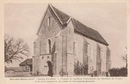 BAR SUR SEINE -  HAMEAU D'AVALLEUR - LA CHAPELLE DE L'ANCIENNE COMMANDERIE DES CHEVALIERS DU TEMPLE - TRES BEAU PLAN - - Bar-sur-Seine