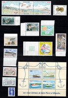 SPM - Annee Complete 1994 - YV 592 à 608 N** Cote 39,90 Euros - Full Years