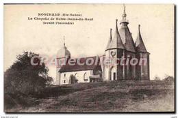 CPA Ronchamp Hte Saone La Chapelle De Notre Dame Du Haut - Other Municipalities