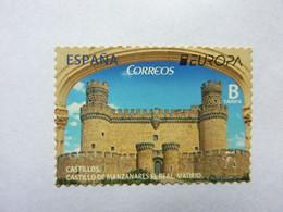2017  Castillo  De Manzanares El Real Madrid  Sello  Mint On A Letter - 2011-2020 Unused Stamps
