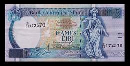 # # # Banknote Malta 5 Liri 1994 # # # - Malta