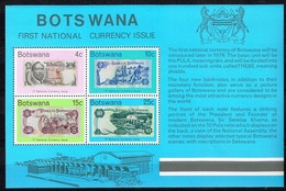BOTSWANA/ Neufs**/MNH**/ 1976 - Première Monnaie Nationale - Botswana (1966-...)