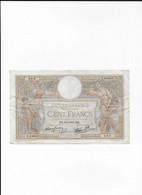 FRANCE  - Billet 100 Francs   Luc Olivier Merson - 100 F 1908-1939 ''Luc Olivier Merson''