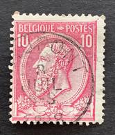 Leopold II OBP 46 - 10c Gestempeld GRUPONT - 1884-1891 Leopoldo II