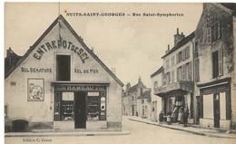 Nuits Saint Georges : L'entrepot De Sel De La Rue Saint-Symphorien, épicerie Rameau (Edition C. Coron) - Nuits Saint Georges