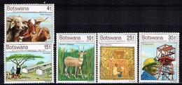 BOTSWANA/ Neufs**/MNH**/ 1976 - 10 éme Anniversaire De L'indépendance - Botswana (1966-...)
