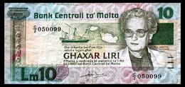 # # # Banknote Malta 10 Liri # # # - Malta