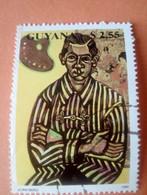 GUYANE - GUYANA - Timbre 1990 : Arts, Peinture : Tableau De Joan Miro - Guyana (1966-...)