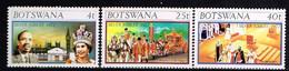 BOTSWANA/ Neufs**/MNH**/ 1977 - 25 Ans Accession Au Trône De SM Elizabeth II - Botswana (1966-...)