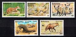 BOTSWANA/ Neufs**/MNH**/ 1977 - WWF / Animaux Menacés - Botswana (1966-...)
