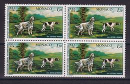D 169 / MONACO / N° 1208 BLOC DE 4  NEUF** COTE 23.20€ - Verzamelingen & Reeksen