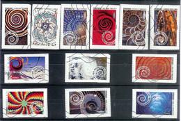 Superbe Série Adhésive Dynamiques 2014 Oblitérée TTB - Adhesive Stamps