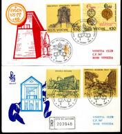 1984 VATICANO FDC 751/754 Istituzioni Culturali E Scientifiche Della Santa Sede - FDC