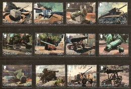 Gibraltar 2018 Micheln° 1843-1854 *** MNH Cote 25 Euro Cannons Kanonnen - Gibraltar