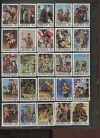 Liberia Norman Rockwell Painting Scouts 50 Diff Cancelled 1979 A04s - Used Stamps