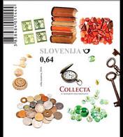 Slovenie Slovenija Bf 085 Collections, Monnaies, Livre, Horloge, Bijou, Clef, Mineral - Unclassified