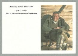 2005 DOCUMENT EN HOMMAGE A PAUL-ÉMILE VICTOR POUR LE 10E ANNIVERSAIRE DE SA DISPARITION - Altre Celebrità