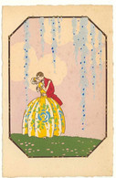 "ROMANTICISMO ---  ""Ars Nova""  G. MESCHINI --- (Dipinte A Mano) --- Carte Peinte --- Série N° 105 --- - Andere Illustrators"