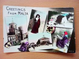 Greetings From Malta (7113) - Malta