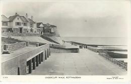 22428) UK GB Rottingdean Undercliff Walk Real Photo RPPC Postmark - Eastbourne