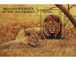 Ref. 231474 * MNH * - UGANDA. 1989. WILD FAUNA . FAUNA SALVAJE - Uganda (1962-...)
