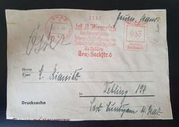 Deutsches Reich 1940, Drucksache Abschnitt Freistempel GRAZ - Covers & Documents
