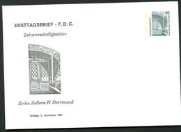 ZECHE ZOLLERN II DORTMUND Bund PU288 D1/001 1987 - Other