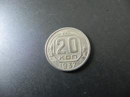 Sowjetunion CCCP 20 Kopeks 1937 - Russland