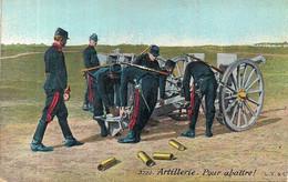 """ARTILLERIE """"POUR ABATTRE""""AQUA PHOTO N°3720 - Regimenten"""