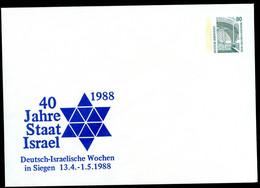 40 J. ISRAEL DAVIDSTERN Bund PU288 D2/021 Siegen 1988 - Jewish