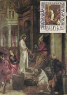 Carte Maximum Painting Peinture Paraguay Tintoretto Tintoret - Paraguay