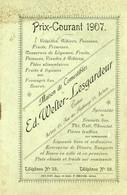 Arrlon - Catalogue 1907 Maison Welter-Lesgardeur - Arlon