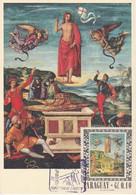 Carte Maximum Painting Peinture Paraguay 1967 Raffaello Sanzio - Paraguay