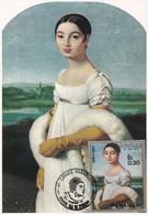 Carte Maximum Painting Peinture Paraguay 1971 Ingres - Paraguay