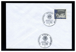 GERMANIA - BERLIN - 1964 -  LIONS INTERNATIONAL - DISTRIKT 111 - Rotary, Lions Club
