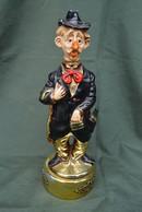 Rare Bouteille Liqueur De Collection Musicale Clown - Spirits